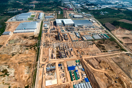 gewerbegebiet landentwicklung erdbewegung und bauwesen thailand
