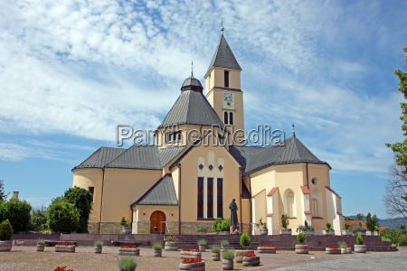 church in krasic croatia