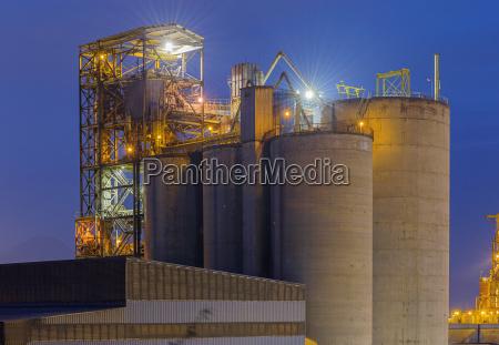 hong kong cement plant