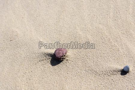 stein sand strand mineralien ustronie