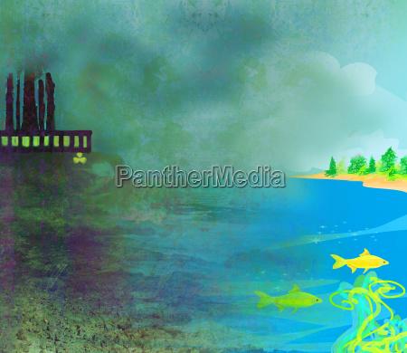 luft verschmutzen fabrikschornsteine