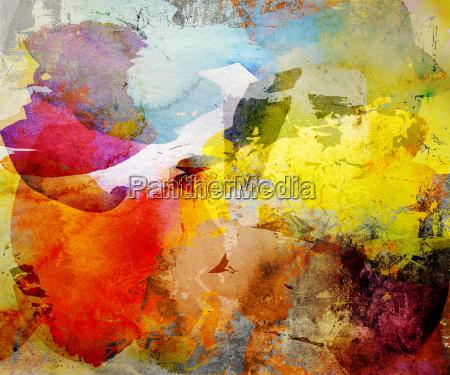 summer colors watercolor texture
