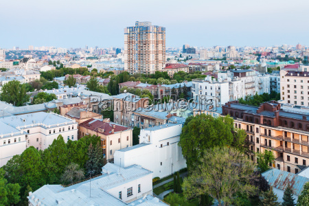 view of residential district in kiev
