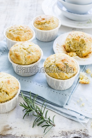 gorgonzola muffins with rosemary
