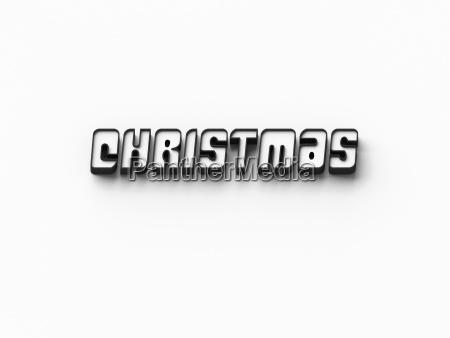 3d rendering wOErter christmas