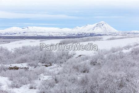 winterlandschaft island