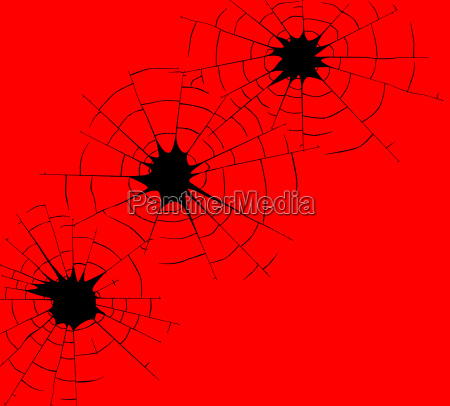 rote bullet holes