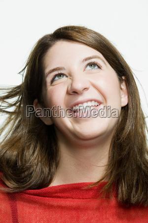 portraet einer teenager maedchen