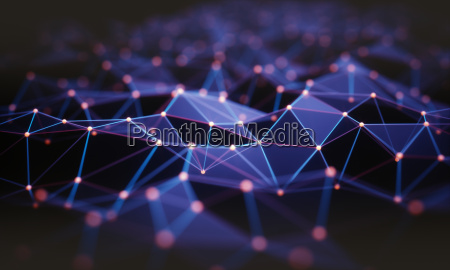 abstract background technology connection