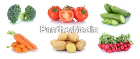 vegetables potatoes carrots tomatoes cucumbers food