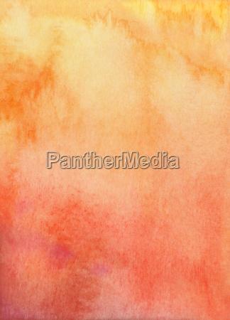 watercolor yellow orange texture