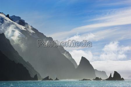 kueste elephant island sued shetland archipel
