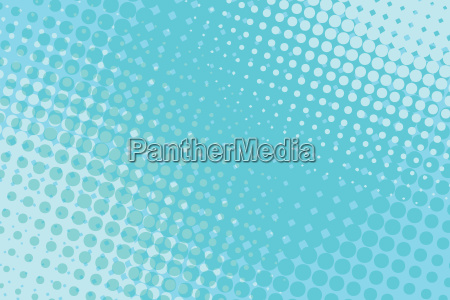 blue pop art halftone background