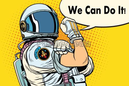 wir koennen es astronaut machen