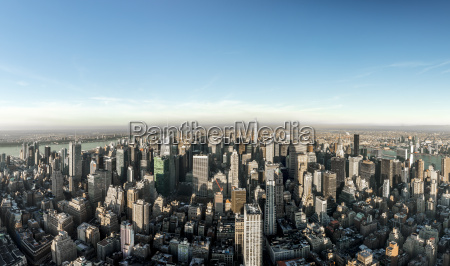 usa new york city cityscape