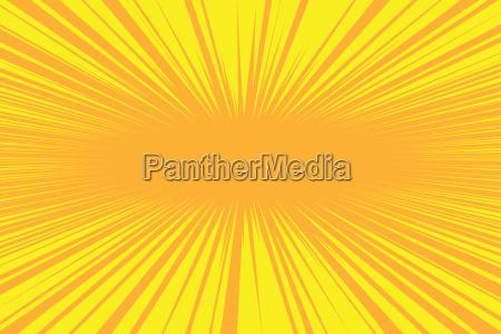 orange, strahlen, pop, art, comic, hintergrund - 22048397
