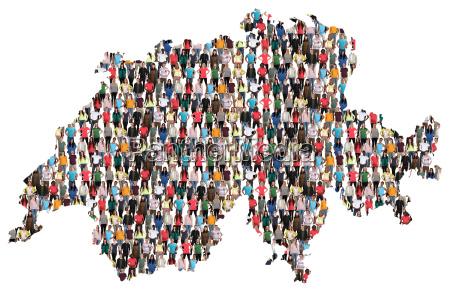 switzerland map people people group people