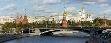 view of the kremlin on the