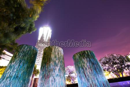 dekorative beleuchtete architektonische designelemente im hangzhou