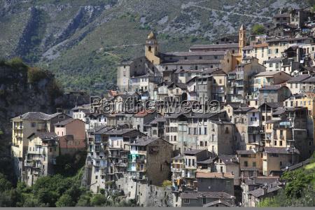 saorge perched medieval village roya valley