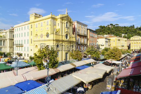 market cours saleya old town nice