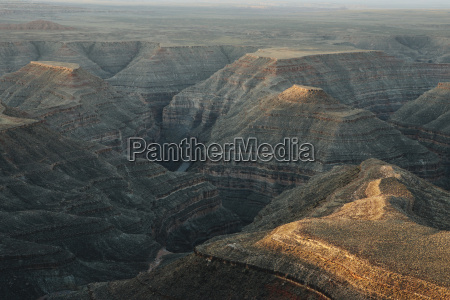 view of san juan canyon from