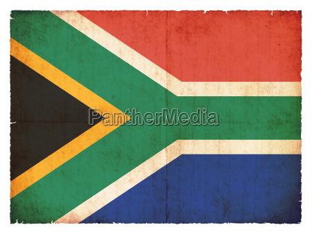 grunge flagge suedafrika