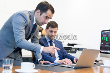 business team remotely solving a problem