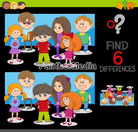 spot the differences activity