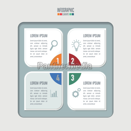 creative concept for infographic infographic design