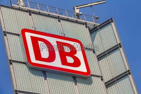 das logo der marke deutsche bahn