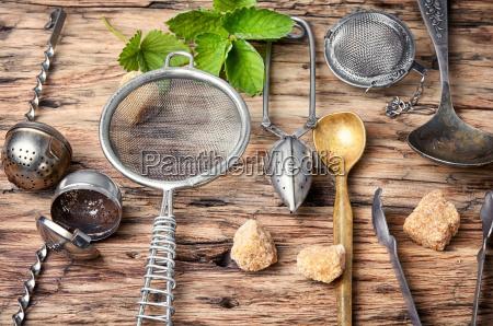 kitchen utensil for tea drinking