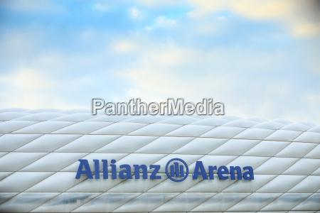 allianz arena in muenchen