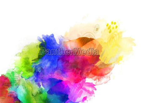color textures rainbow concept