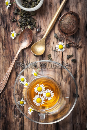 herbal tea with chamomile