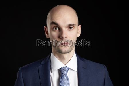 man raises an eyebrow