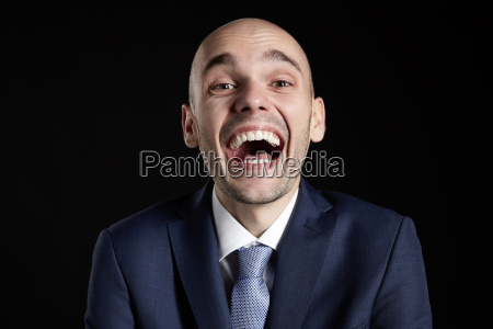 goofy laughing man