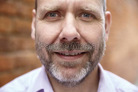 close up portrait of a man