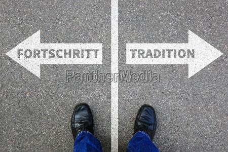 fortschritt tradition zukunft bewertung analyse unternehmen