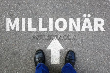 millionaire rich wealth success successful career