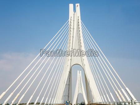 portimao bridge over arade river in
