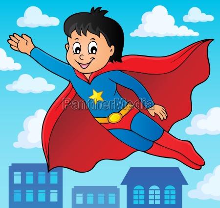 superheldjunge thema bild 2