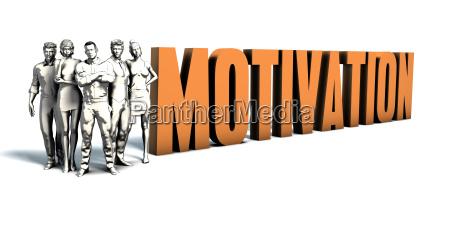 geschaeftsleute motivation art