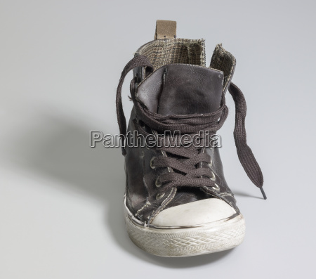 old rundown sneaker