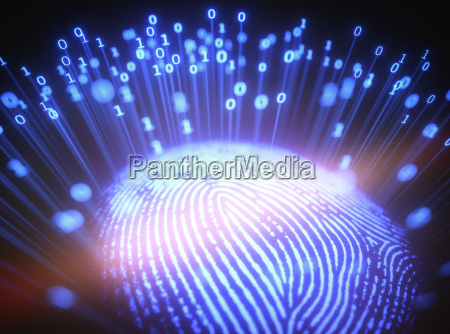 fingerprint binary code