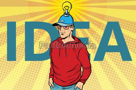 idea man casual clothes
