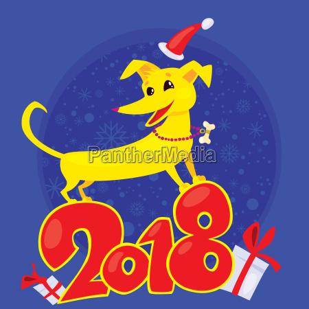 yellow dog ist das chinesische tierkreissymbol