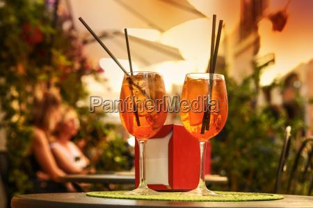trinke in rom italien