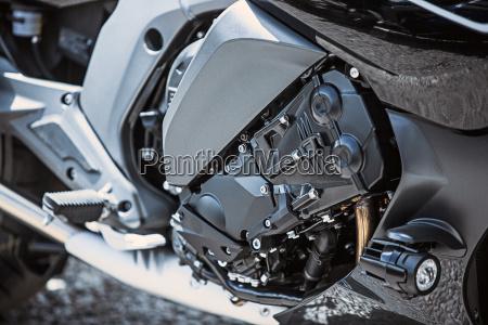 motorrad luxusartikel aus naechster naehe scheinwerfer