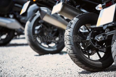 motorrad luxusartikel aus der naehe scheinwerfer